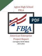 Carrington American Enterprise Project