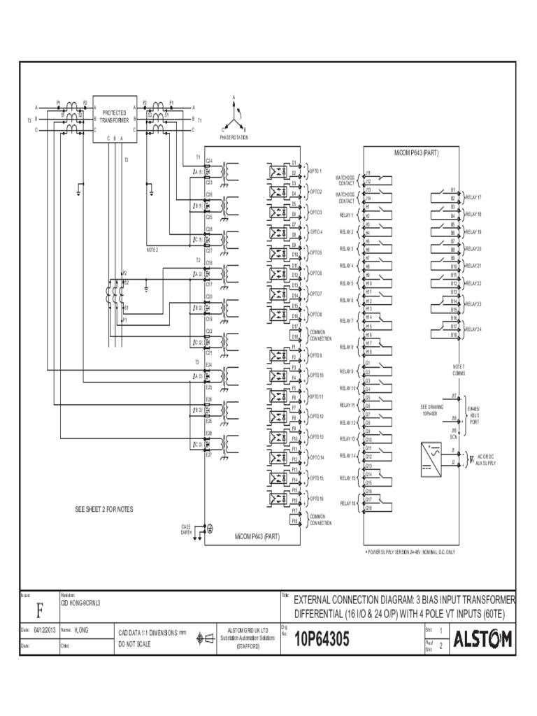 p643 Wiring Diagram