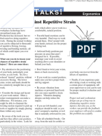 Your Defense Against Repetitive Strain
