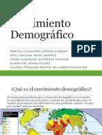 crecimiento demografico exposicion