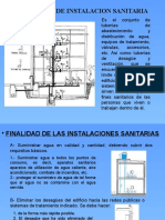 EXPOSICION 1 INSTALACIONES SANITARIAS - 2010.pptx
