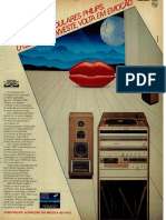 Sistema de Som Philips 1985