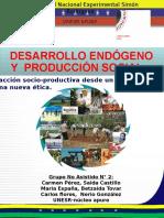 desarrollo endogeno  y produccion