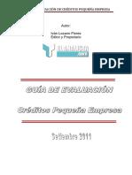 Metodologia Crediticia Evaluacion Creditos Pymes