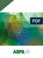Relatório Anual 2016  ABPA
