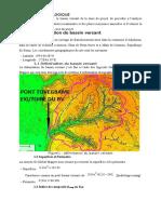 PFE hydrologie  idrissaa