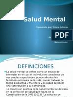 presentación sobre la salud mental