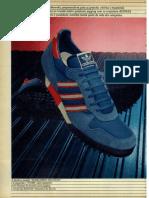 Tenis Adidas Azul 1986