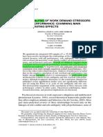 Stressors and Performance Meta Analysis