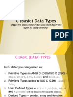 c Programming Data Type