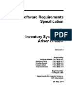 SRS - Inventory System for Ariser Pharma