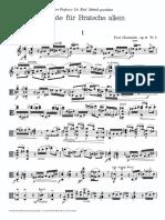 Paul Hindemith - Sonate Fur Bratsche Allein, Op.11 Nr.5 - 1951