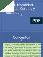 Moral, Moralidad, Normas Morales y Sociales 1
