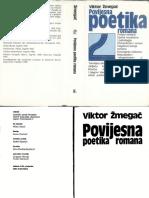 Viktor Žmegač - Povijesna poetika romana