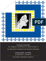 Booklet on Sexual Violence in Bosnia