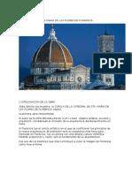 La Cúpula de Santa María de Las Flores de Florencia 1