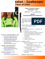 kelsey heaton player profile