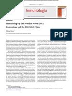 premios nobel inmunologia