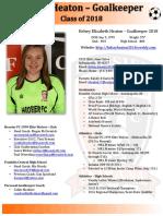 kelsey heaton player profile 2017