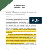 3a. Sesión. Weiss Hermeneutica y Descripción Densa