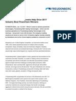 Freudenberg 2017Wards10BestEngines Press