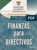 Finanzas para Ejecutivos- Hardvard Business Essentials.