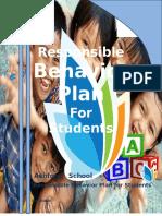 Responsible Behavior Plan Values
