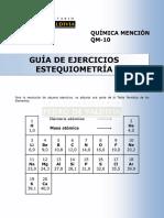 Guia 10 Estequiometria