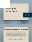 ASOCIADOS de MILAN.principios Generales de La Terapia