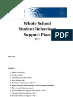 St Brendan's Moorooka Whole School Behaviour Plan