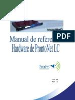Manual de Referencia Hardware ProntonetLC Rev1.2