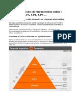 Les coûts et modes de rémunération online.docx