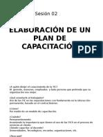 Sesión 02 Elaboración de un plan de  capacitación.pptx