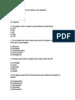 Prueba Diagnostica de Trigonometria