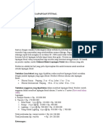 Estimasi Bisnis Lapangan Futsal