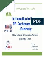 Intro to PR DB and CCM Summary