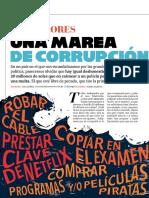 Antivalores. Una marea de corrupción