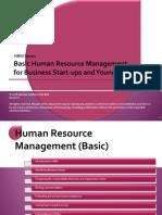 Basic HR for Business Starters (v1.0)