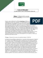 Philo Platon l Allegorie de La Caverne La Republique 7 Pages 53 Ko