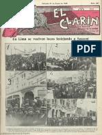 El Clarín (Valencia). 21-1-1928