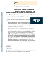 Use of the Michigan Neuropathy Screening Instrument-2012