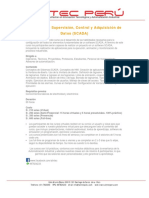 Sistemas de Supervisión, Control y Adquisición de Datos - SCADAscada