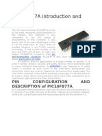 PIC16F877A introduction and features.docx