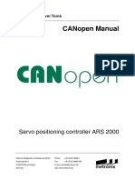 CanOpen Manual ARS2000 1p6