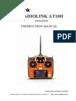 RadioLink AT10II User Manual