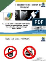 Taller Documentos de Gestion en Seguridad 2014