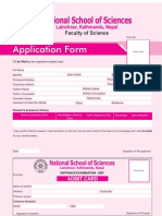 Nss Application Form