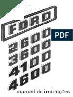 Manual Ford2610