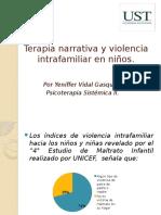 Terapia Narrativa y Violencia Intrafamiliar en Niños
