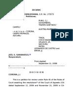 Ombudsman vs. Samaniego